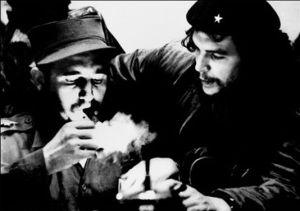 Fidel Castro et Che Guevara